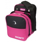 EBONITE COMPACT SINGLE TOTE BLACK PINK