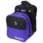 EBONITE COMPACT SINGLE TOTE BLACK BLUE