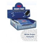 MASTER WHITE SUPER TEXTURED INSERT TAPE