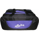 ALOHA 2 BALL BAG TOTE PLUS BLACK BLUE
