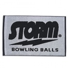 STORM WOWEN TOWEL BLACK GREY