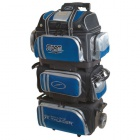 STORM 6 BALL ROLL THUNDER BAG BLACK BLUE SILVER