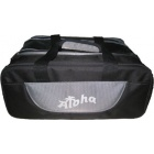 ALOHA 2 BALL BAG TOTE PLUS BLACK GREY