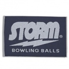 STORM WOWEN TOWEL NAVY GREY